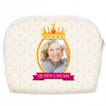 'Queen of Mums' Make Up Bag Large