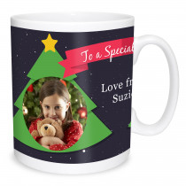 To a Special Mum Christmas Mug