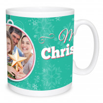 Merry Christmas Bauble Mug