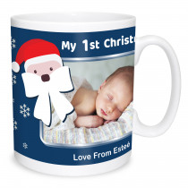 My First Christmas Santa Mug