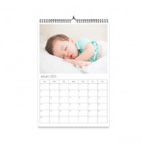 A4 Calendar with Birthdays