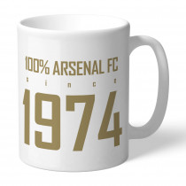 Arsenal FC 100 Percent Mug