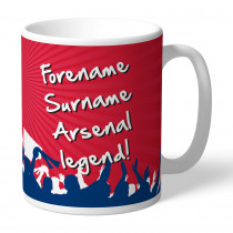 Arsenal FC Legend Mug