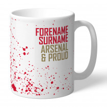 Arsenal FC Proud Mug