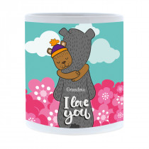 Bears Hugging Mug