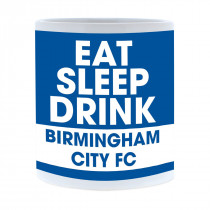 Birmingham City FC Eat Sleep Drink Mug