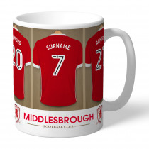 Middlesbrough FC Dressing Room Mug