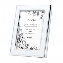Brooke White Photo Frame