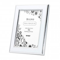 Brooke White Print and Frame