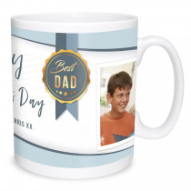 Best Dad Photo Mug