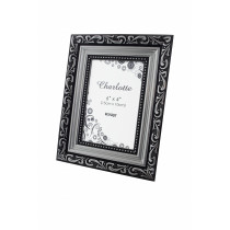 Silver Charlotte Photo Frame