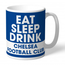 Chelsea FC Eat Sleep Drink Mug