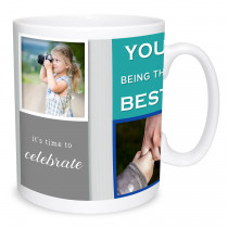 Father's Day Celebration Photo Mug
