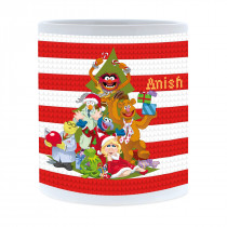 Disney The Muppets Christmas Group Mug