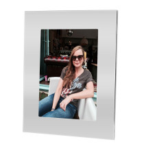 Ellen Engravable Silver Photo Frame with Print