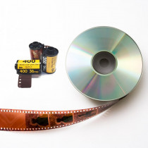 35mm C41 Film & Single Use Cameras Process-only to CD