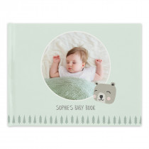 Hardcover Photo Book with Baby Theme