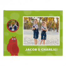 Hardcover Photo Book with Monsters Theme