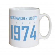 Manchester City FC 100 Percent Mug