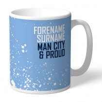 Manchester City FC Proud Mug