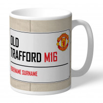Manchester United FC Street Sign Mug