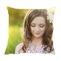 "12"" Single Image Canvas Square Photo Cushion"