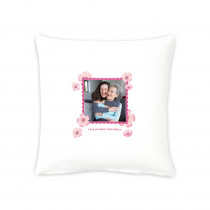 "16"" Flower Stamp Cushion"
