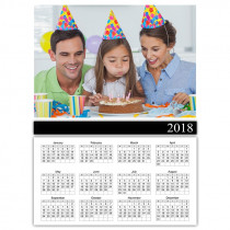 Portrait 2018 Photo Calendar with Single Images