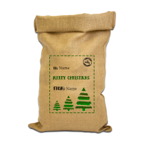 Christmas Sack Tree Design