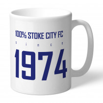 Stoke City FC 100 Percent Mug