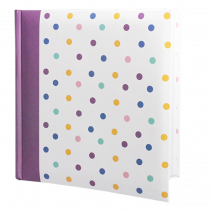 "Vermont Spotty Photo Album 8""x6"" (100 Photos)"