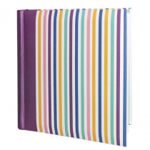 "Vermont Stripey Photo Album 6""x4"" (200 Photos)"