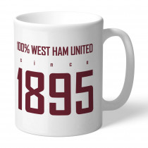 West Ham United FC 100 Percent Mug