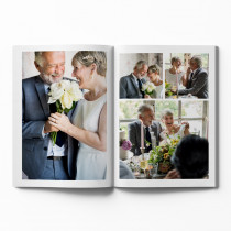 Softcover Photo Book with White Theme