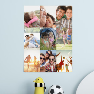 Photo Collage Poster Print