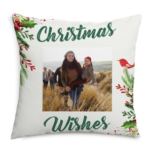 Christmas Holly Cushion
