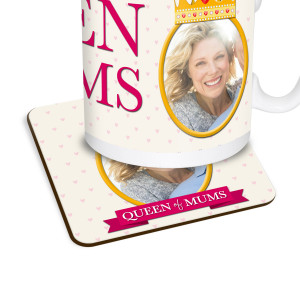 Queen of Mums Coaster