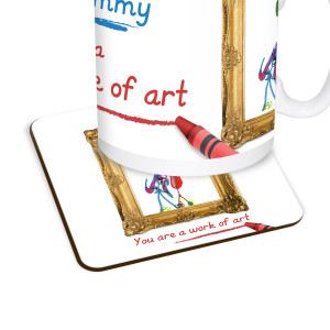 Work of Art Coaster