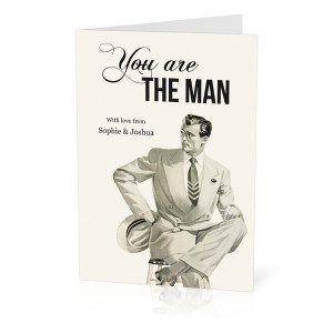 You Are The Man Card