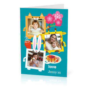 Animal Frames Card