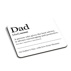 Dad Definition Coaster