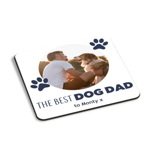 Best Dog Dad Coaster