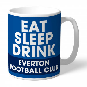 Everton FC Eat Sleep Drink Mug