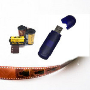 35mm C41 Film & Single Use Cameras Process-only to USB