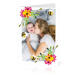 Flower Frame Card
