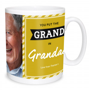 Grand in Grandad Photo Mug