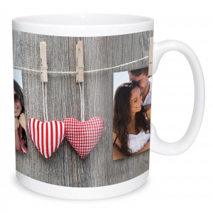 Hanging Double Image Photo Mug