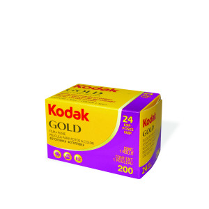 Kodak Gold Photo Film 200ASA 24 Exposures