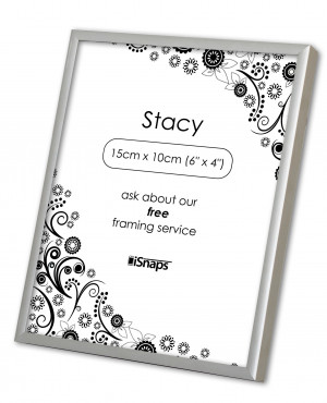 Stacy Silver Photo Frame