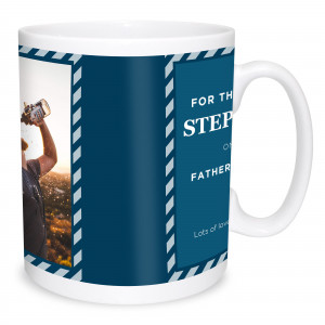 Step Dad Photo Mug